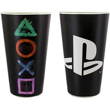 PlayStation - Sklenice s logem PS (5055964715328)