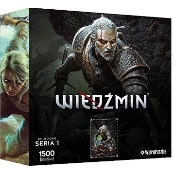 Zaklínač - Geralt - oficiální puzzle (5907610755526)