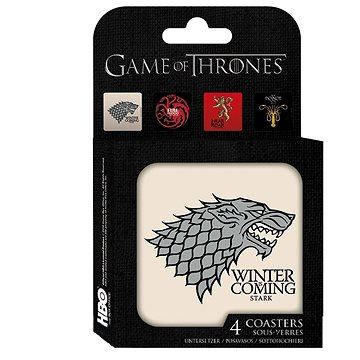 Game Of Thrones set - podtácky (3700789238959)