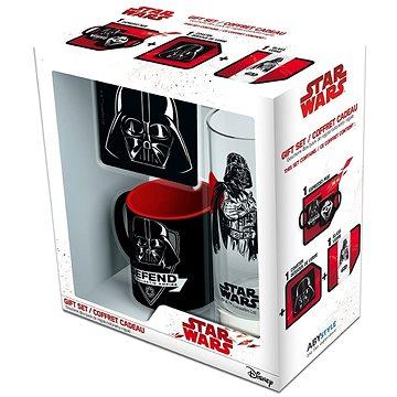 Star Wars Vader set - hrnek, podtácek, sklenice (3700789279525)