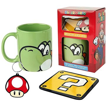 Super Mario Yoshi - dárkový set (5050293852058)