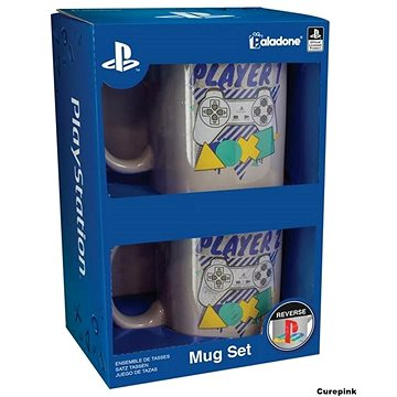Playstation Player One and Two - dárkový set (5055964723989)