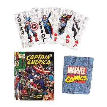 Marvel Comic Book - hrací karty (5055964723019)