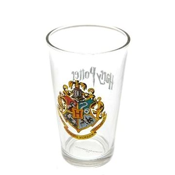 Harry Potter Hogwarts Crest - sklenice (5028486333233)