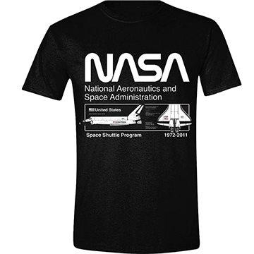 NASA Space Shuttle Program - tričko S (5056270451863)