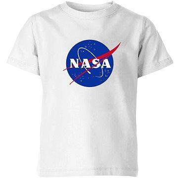 NASA Logo bílé - tričko