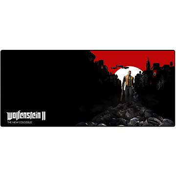 Wolfenstein - Podložka pod myš a klávesnici (4260570022345)