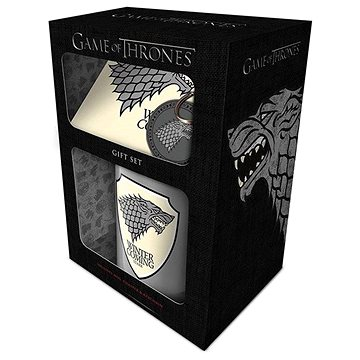 Game of Thrones - Stark - dárkový set (5050293851419)