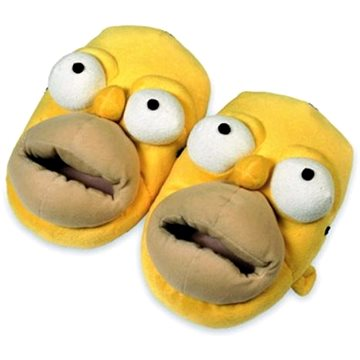 The Simpsons - Homer - papuče vel. 38-40 (8423599038681)