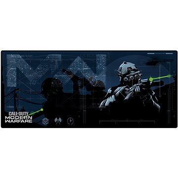 Call of Duty: Modern Warfare - Podložka pod myš a klávesnici (4260647352009)