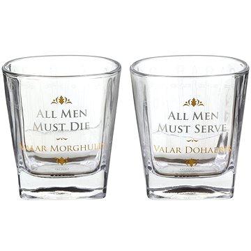 Game of Thrones - All Men Must Die - 2x sklenice (5055453452321)