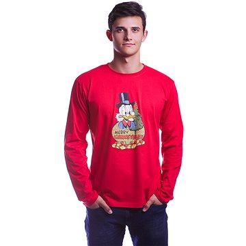 Disney X-mas - tričko s dlouhým rukávem L (5908305228486)