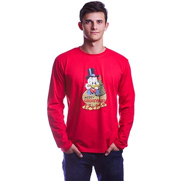 Disney X-mas - tričko s dlouhým rukávem S (5908305228509)