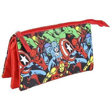 Marvel Avengers - penál na psací potřeby trojitý (8427934431397)
