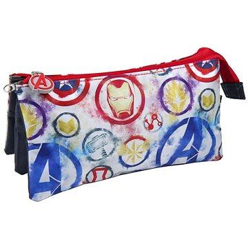 Marvel Avengers - Logo - penál na psací potřeby trojitý (8427934397051)