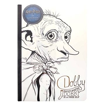 Harry Potter - Dobby - zápisník (5055453455964)