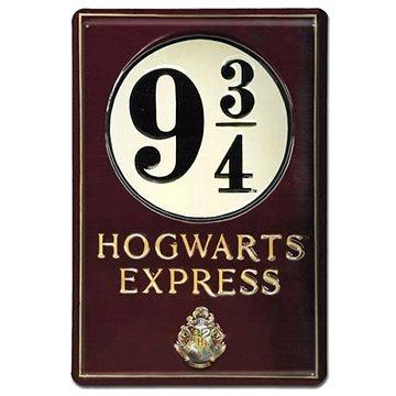Harry Potter - Platform 9 3/4 - plechová 3D cedule na zeď (4045846352742)