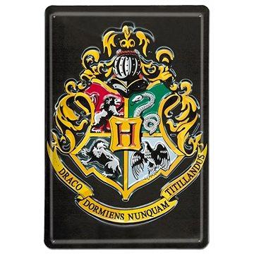 Harry Potter - Hogwarts - plechová 3D cedule na zeď (4045846352711)