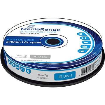 MediaRange BD-R (HTL) 50GB Dual Layer10ks cakebox (MR507)
