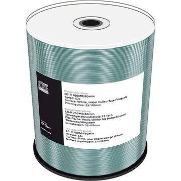 Mediarange CD-R 700 MB 52x spindl 100 ks Inkjet Printable (MR203)