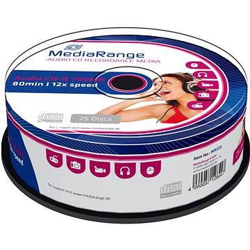 MediaRange CD-R Audio 25ks cakebox (MR223)