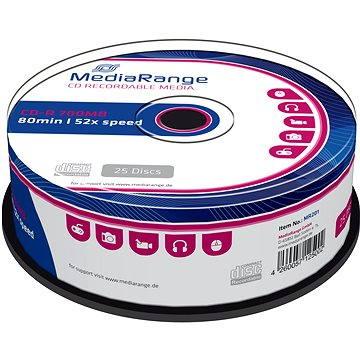 MediaRange CD-R 25ks cakebox (MR201)