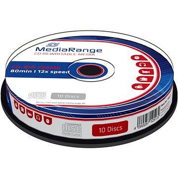 MediaRange CD-RW 10ks cakebox (MR235)
