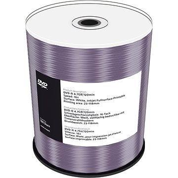 MediaRange DVD-R Inkjet Fullsurface Printable 100ks cakebox (MR413)