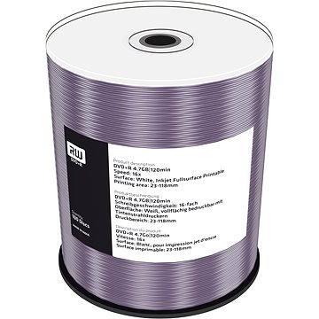 MediaRange DVD+R Inkjet Printable 100ks cakebox (MR414) + ZDARMA Média MediaRange DVD+R 5ks v SLIM krabičce