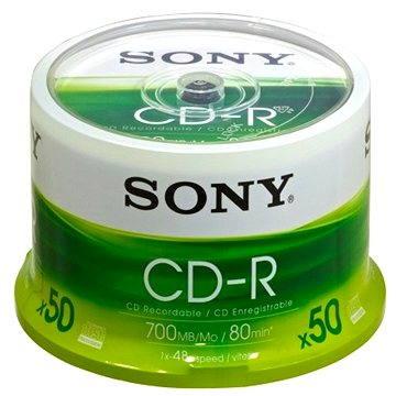 Sony CD-R 50ks cakebox bulk (50CDQ80SP)