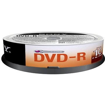 Sony DVD-R 10ks cakebox (10DMR47SP)