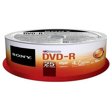 Sony DVD-R 25ks cakebox (25DMR47SP)