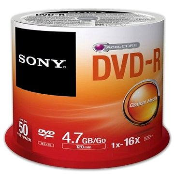 Sony DVD-R 50ks cakebox (50DMR47SP)