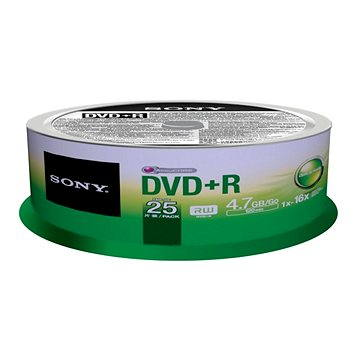 Sony DVD+R 25ks cakebox (25DPR47SP)