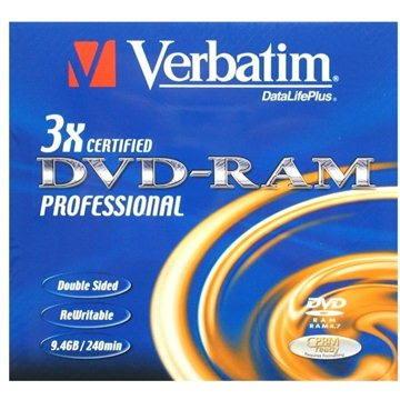 Verbatim DVD-RAM 3x, 1ks v krabičce (43493)
