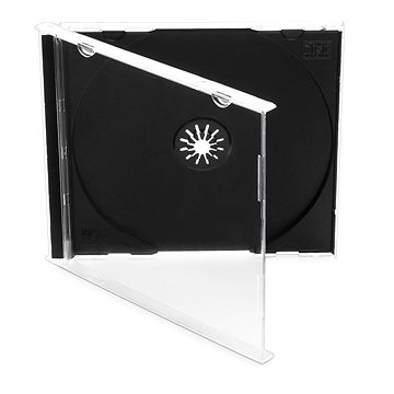 Krabička na 1ks - černá, 10mm, 10pack (COVERIT1)