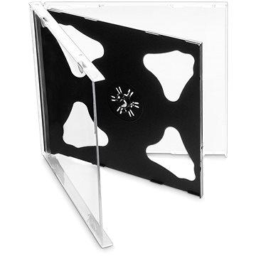 Krabička na 2ks - černá, 10mm, 10ks/bal (27002P10)