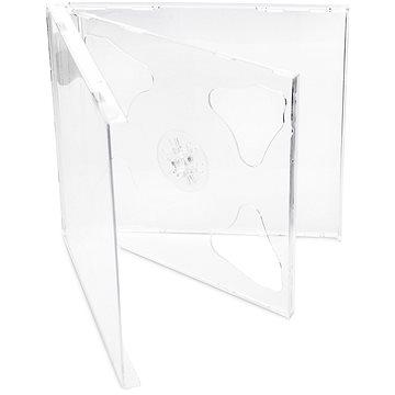 Krabička na 2ks - čirá (transparent), 10mm, 10ks/bal (27008P10)