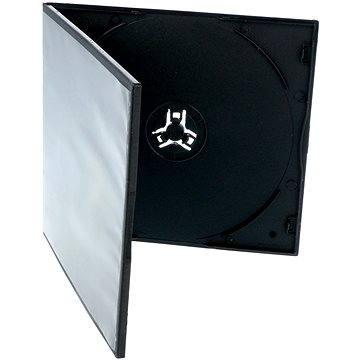 Krabička slim na 1ks - černá (27017)
