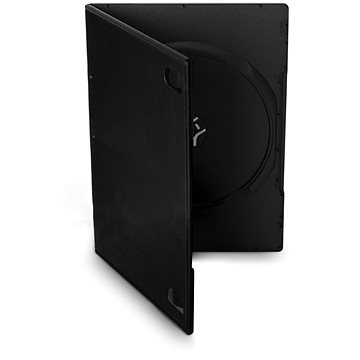 Cover IT Krabička na 1ks, černá, 7mm,10ks/bal (27082P10)