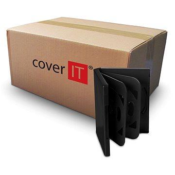 Krabička na 6ks - černá, 24mm (27012)