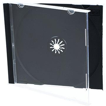 Krabička na 1ks - černá, 10mm (27001)