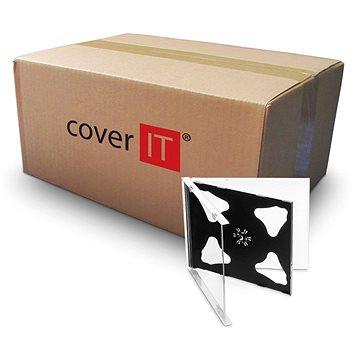 Krabička na 2ks - černá, 10mm (27002)