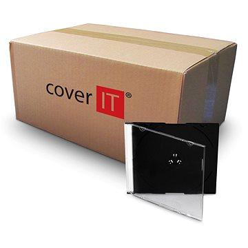 Krabička slim na 1ks - černá, 5.2mm (27036)