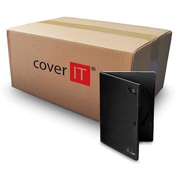 Krabička na 1ks, černá, 14mm (27081)