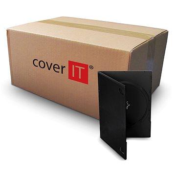 Krabička na 1ks, černá, 7mm (27082)