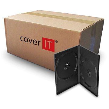 Krabička na 2ks, černá, 14mm (27115)