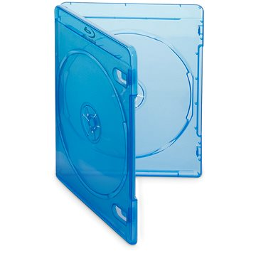 Krabička na 2ks Blu-ray média modrá,10ks/bal (27124P10)
