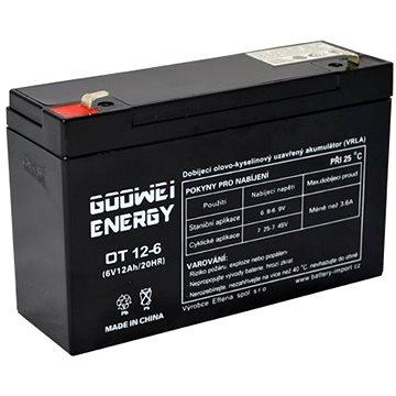 GOOWEI ENERGY OT12-6, 6V, 12Ah (OT12-6)