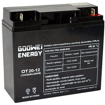 GOOWEI ENERGY OT20-12, 12V, 20Ah (OT20-12)